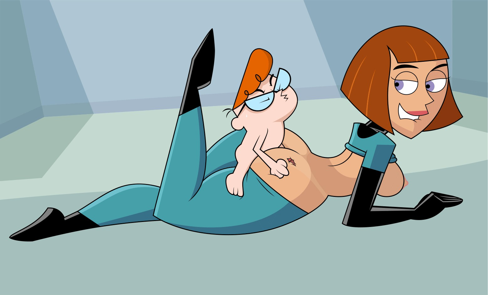 anime gif 100 x 300 – dexter and maddy